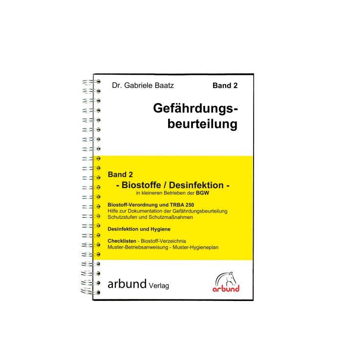 Band 2 - arbund Verlag - Ihr Partner für die Dokumentation im Arbeitsschutz