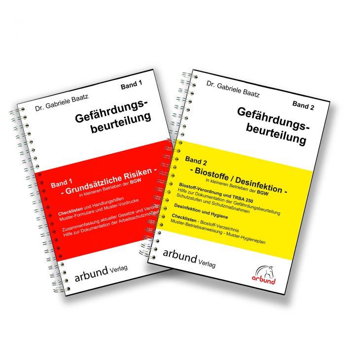 Bücherfächer arbund Verlag - Ihr Partner für die Dokumentation im Arbeitsschutz