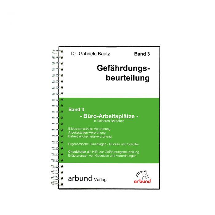 Band 3 - arbund Verlag - Ihr Partner für die Dokumentation im Arbeitsschutz